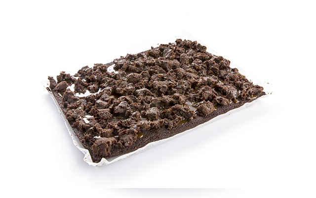 TRAY BAKE BROWNIE CHOC & SALTED CARAMEL 1800GR 2ST PANESCO (5001590)