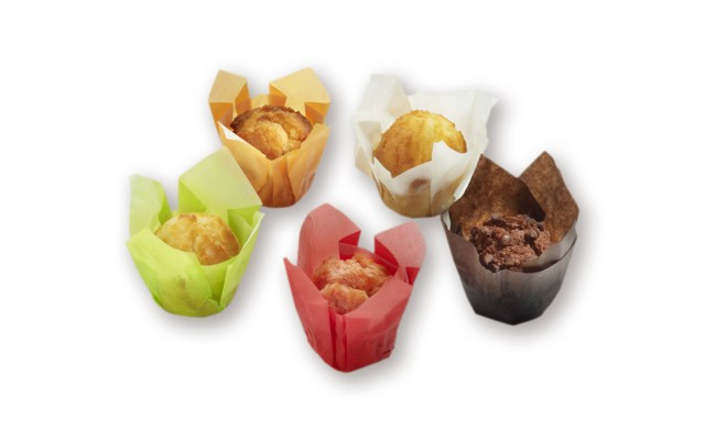 PARTY BOX MUFFINS 70GR 25ST DAUPHINE (2007525)