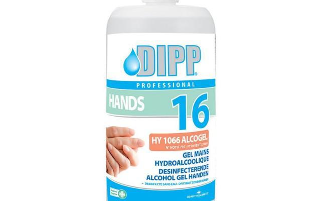 GEL ALCOHOL DESINFECTEREND N16 1L DIPP (48124)