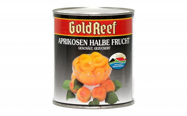 ABRIKOZEN OP SIROOP 6X3KG GOLD REEF (1043)